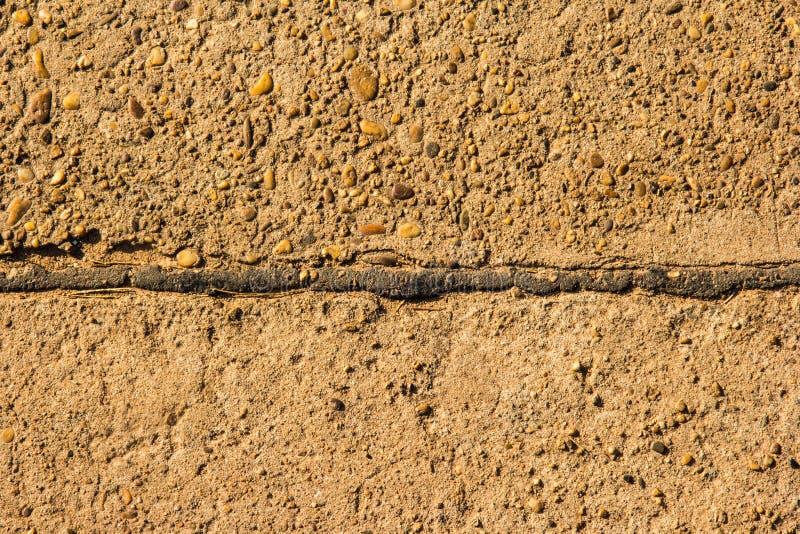 Via del cemento fotografie stock libere da diritti