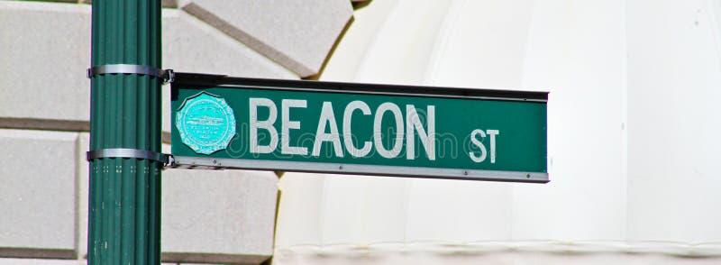 Via del falò, Boston, mA fotografie stock