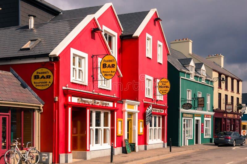 Via del filo dingle l'irlanda immagini stock libere da diritti