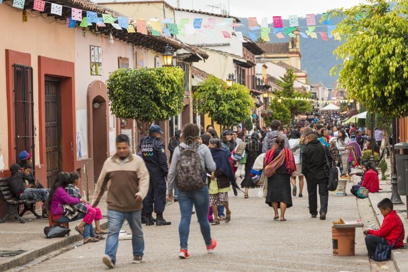 Via del San Cristobal fotografie stock