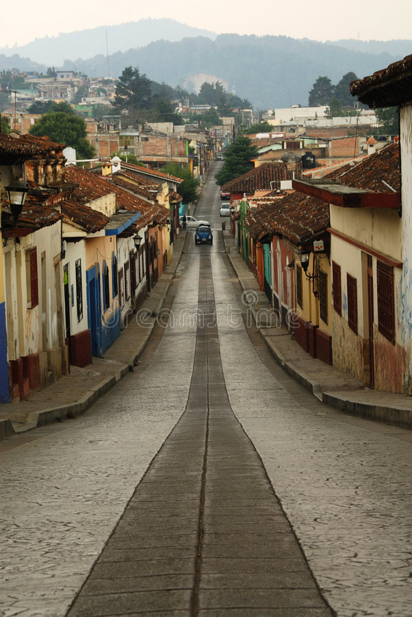 Via del San Cristobal fotografia stock
