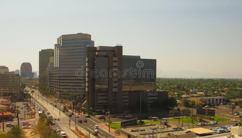 Via della centrale dell'Arizona immagini stock libere da diritti