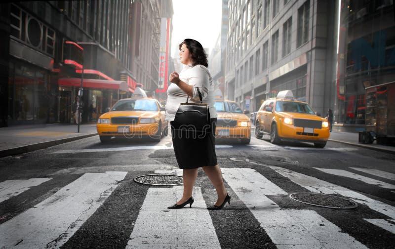 Via della città fotografie stock libere da diritti