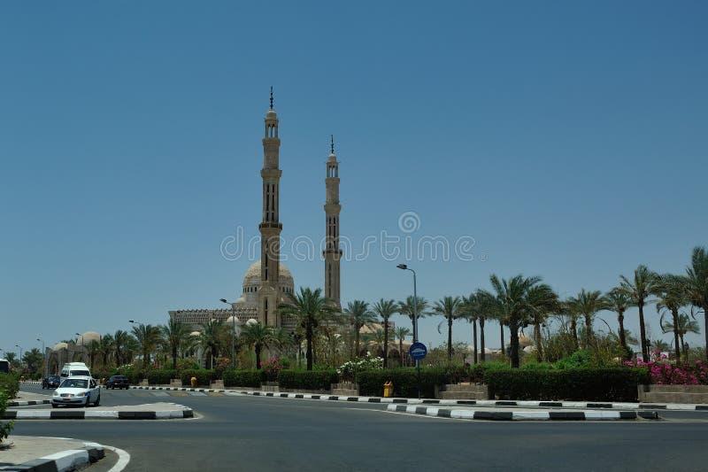 Via dello Sharm-el-Sheikh fotografia stock libera da diritti