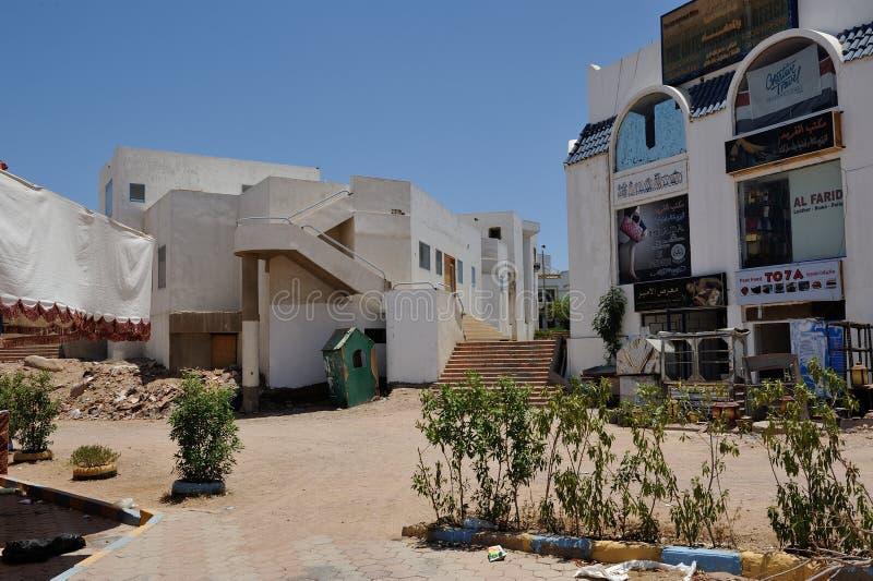 Via dello Sharm-el-Sheikh fotografie stock libere da diritti