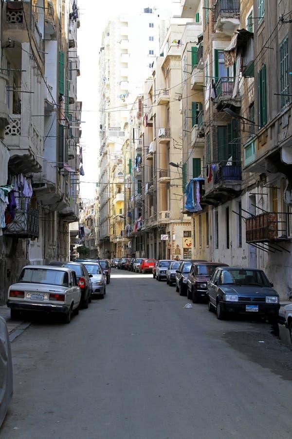 Via di Alessandria immagini stock