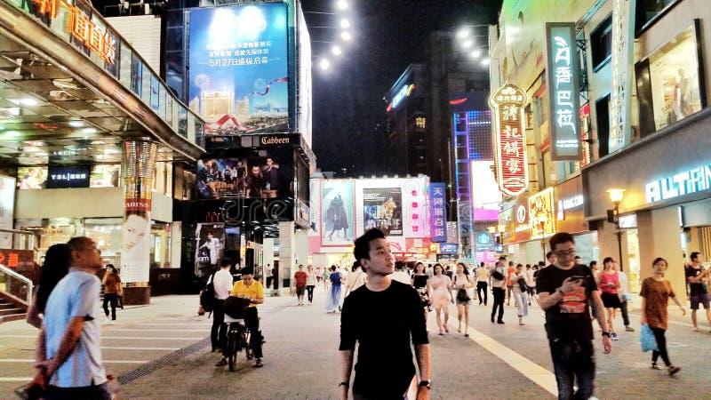 Via di Beijinglu immagine stock libera da diritti