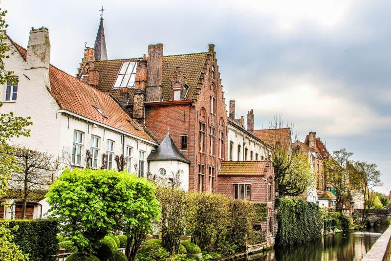 Via #2 di Bruges fotografie stock libere da diritti