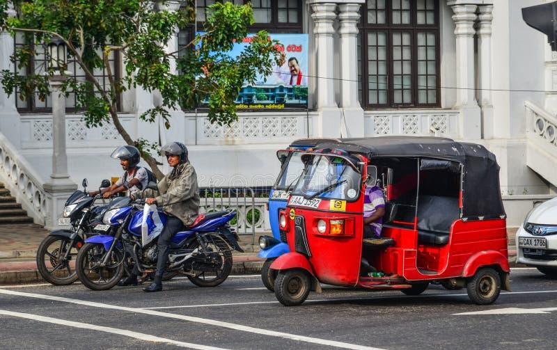 Via di Colombo, Sri Lanka fotografia stock libera da diritti