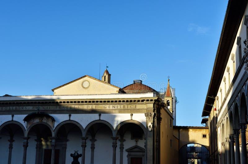 Via di Firenze XXVIII immagini stock