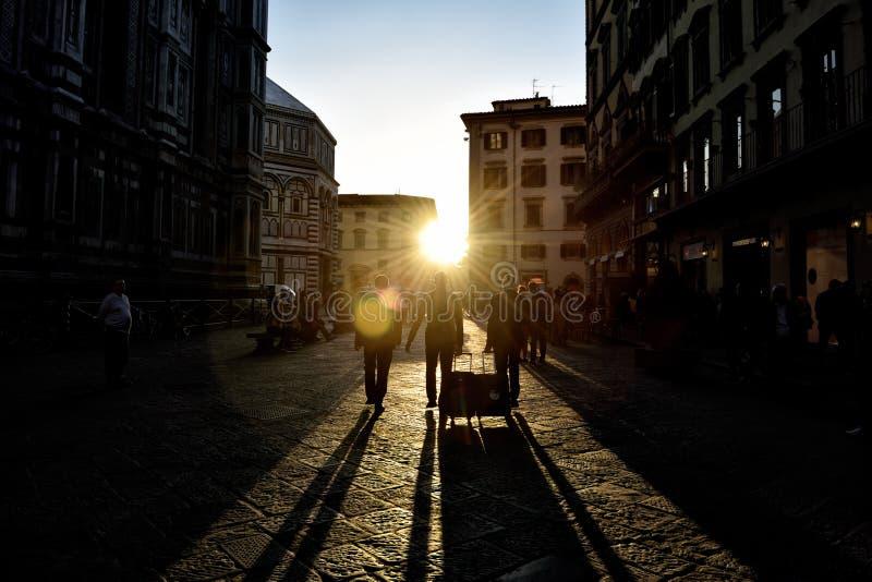 Via di Firenze XXXII immagini stock