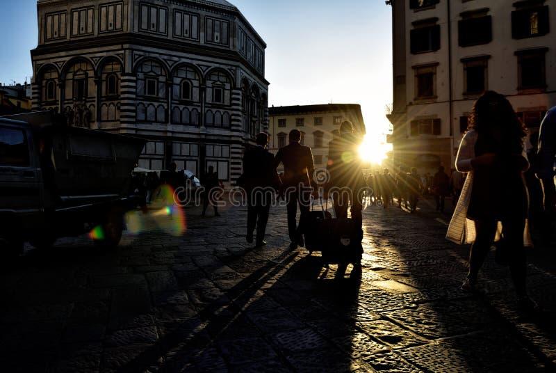 Via di Firenze XXXIII fotografia stock
