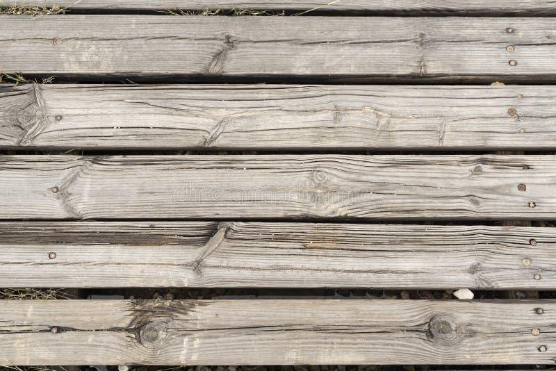 Via di legno rustica dello scrittorio del primo piano fondo con struttura piacevole immagine stock libera da diritti