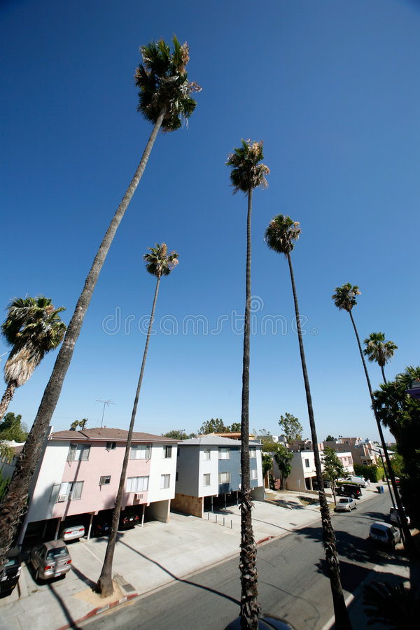Via di Los Angeles immagini stock