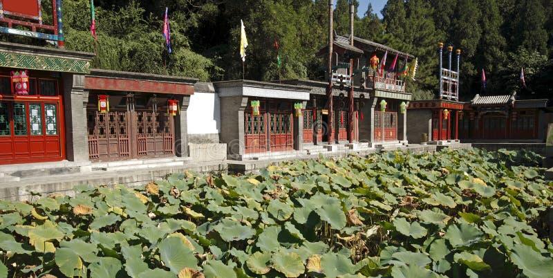 Via di Suzhou a Pechino immagini stock