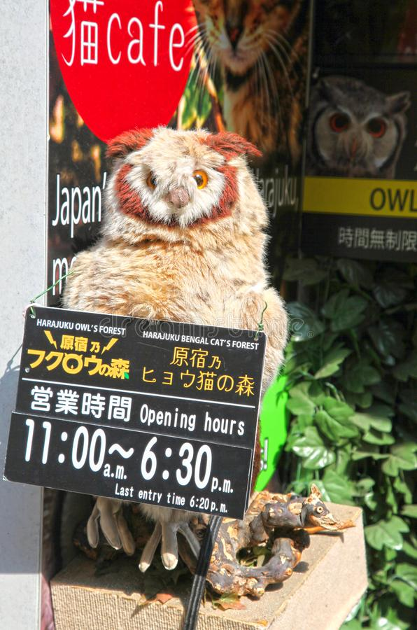 Via di Takeshita in Harajuku, Tokyo, Giappone immagine stock