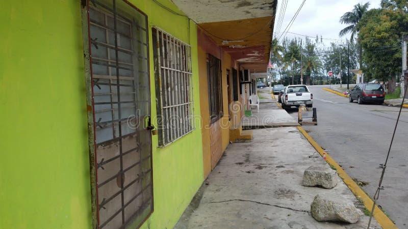 Via di Tampico, Messico fotografia stock libera da diritti