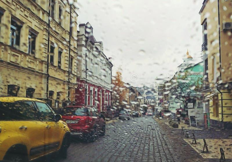 Via di Vozdvizhenskaya immagine stock libera da diritti