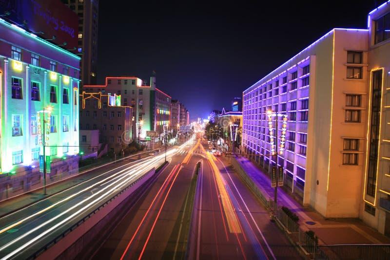 Via expressa leste-oeste de Qingdao imagens de stock royalty free