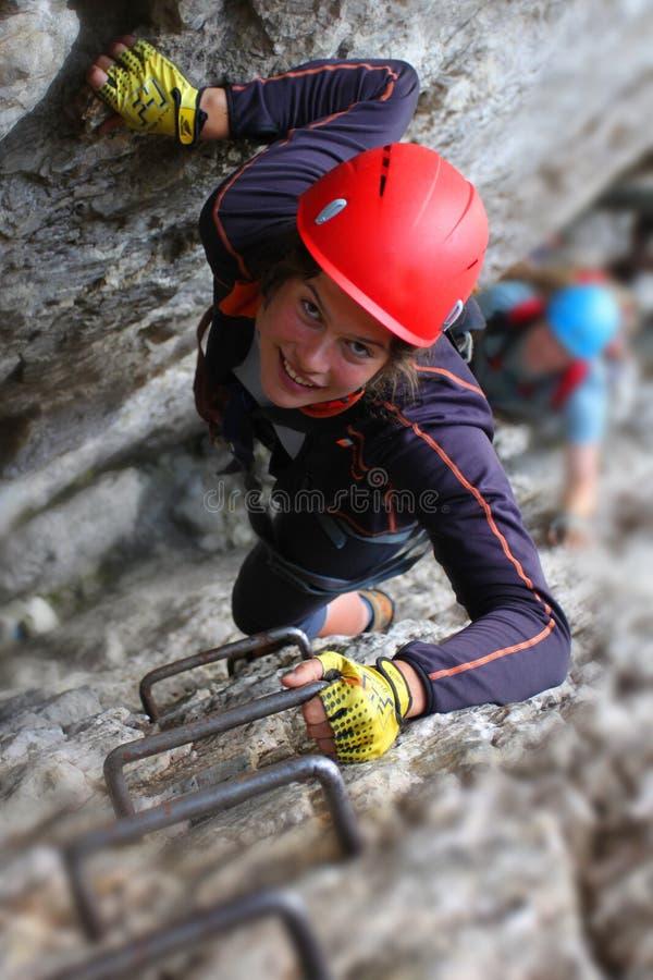 Free Via Ferrata Climbing Royalty Free Stock Images - 14771189