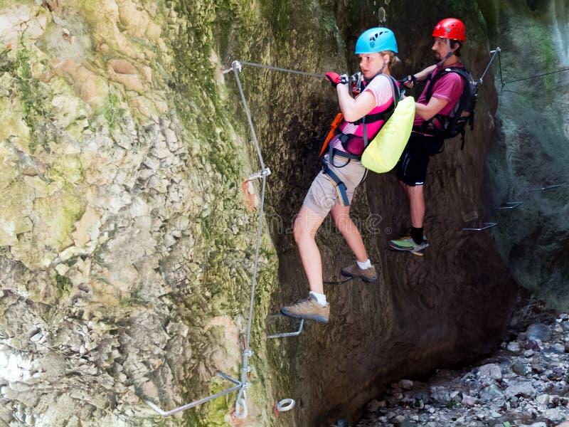 Download Via Ferrata / Klettersteig Climbing Stock Photo - Image: 28491250