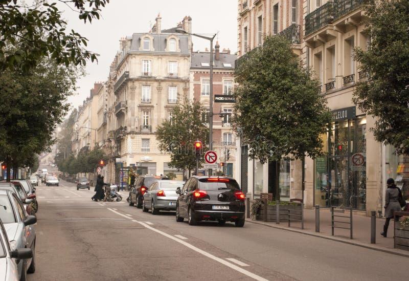 Via Francia di Rouen fotografia stock