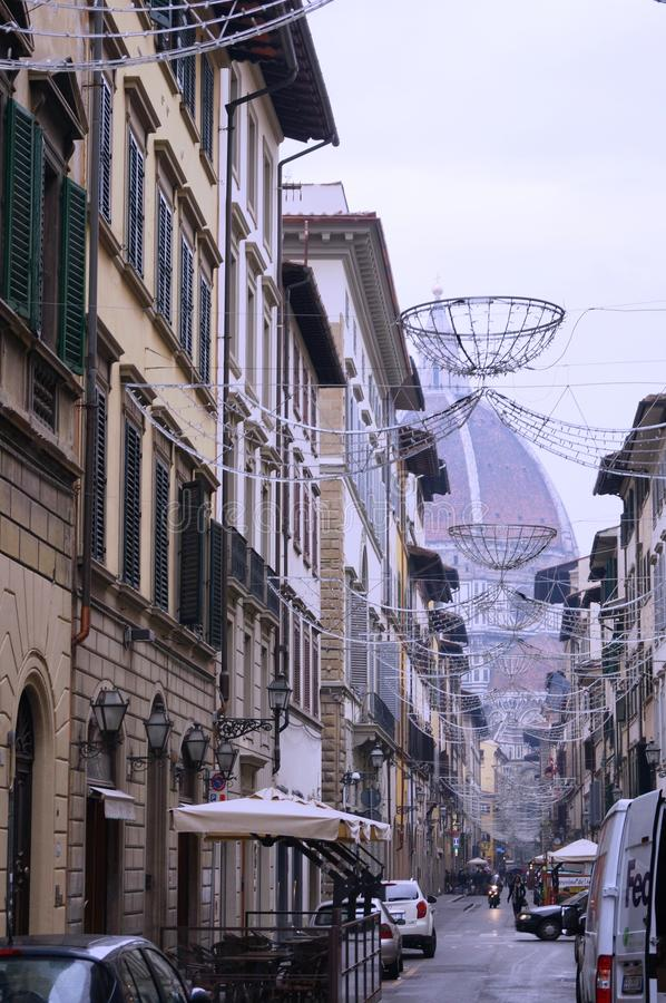 Via italiana immagine stock libera da diritti