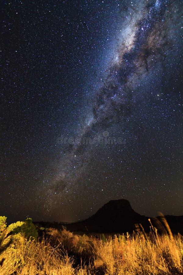 Via Lattea Madagascar fotografia stock