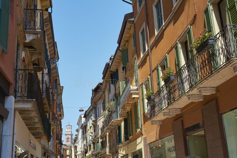 Via Mazzini stock foto