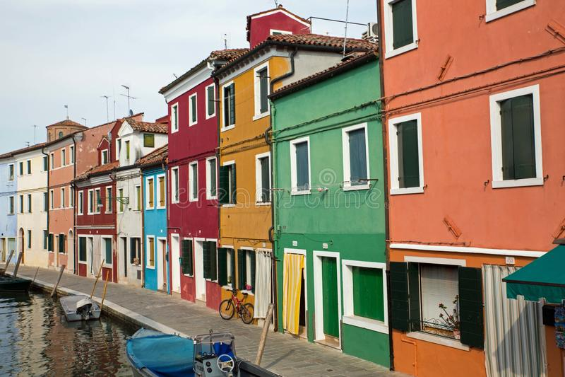 Via in Murano fotografia stock