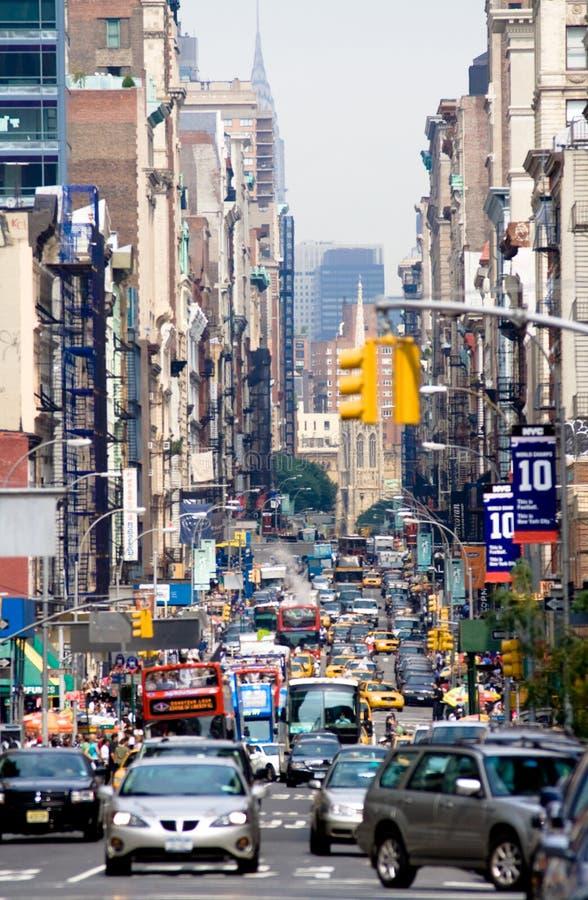 Via a New York. fotografia stock libera da diritti