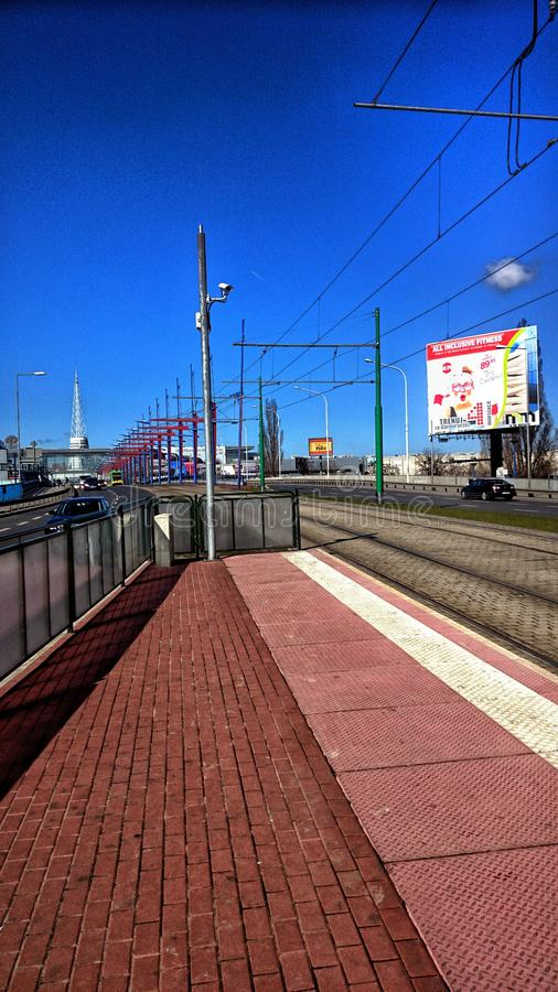 Via a Poznan fotografia stock