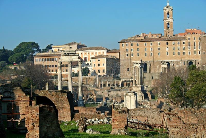 Via Sacra in Rome royalty-vrije stock foto's