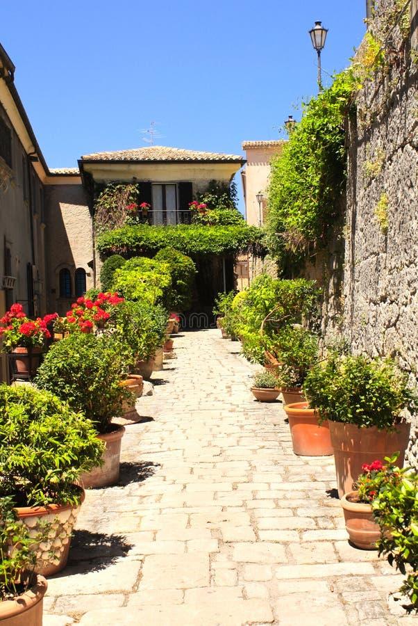 Via a San Marino immagine stock