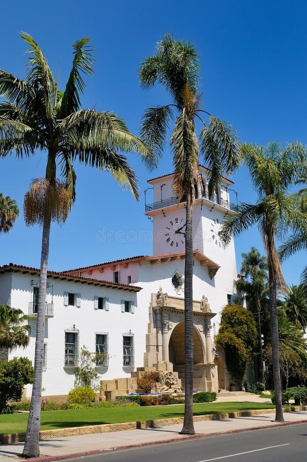 Via a Santa Barbara fotografie stock