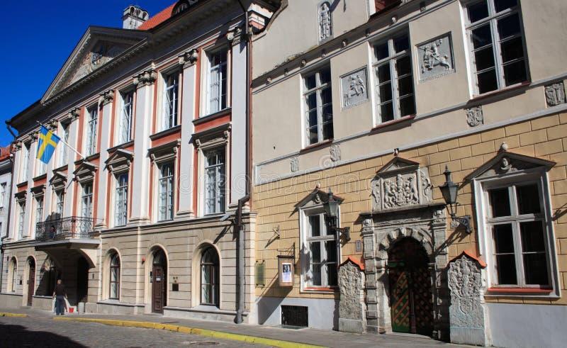 Via a Tallinn immagine stock libera da diritti