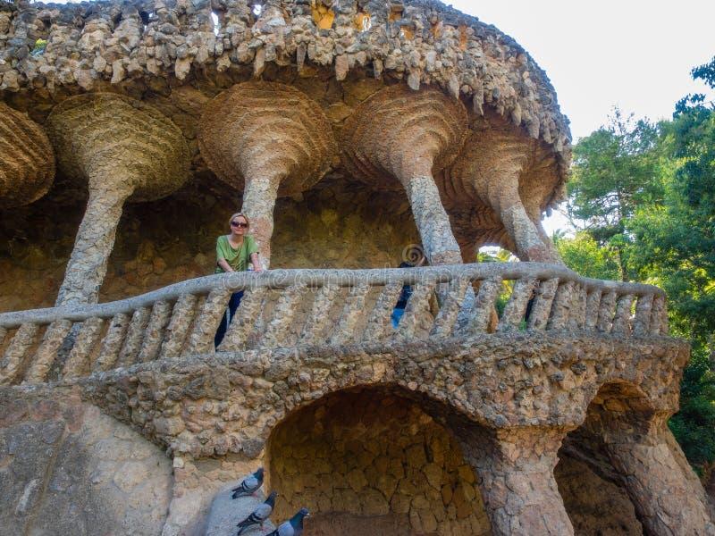 Viadotto dell'auna del ¼ del parco GÃ immagine stock