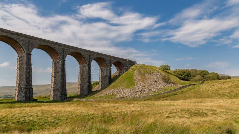 Viadotto di Ribblehead, North Yorkshire, Regno Unito immagine stock libera da diritti