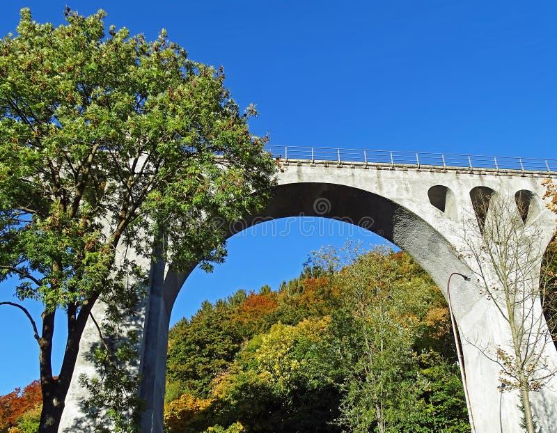 Viadotto Sauerland/Germania di Willingen immagine stock