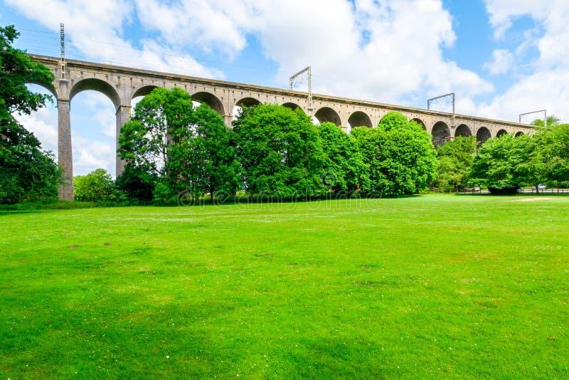 Viaduc de Digswell au R-U images stock