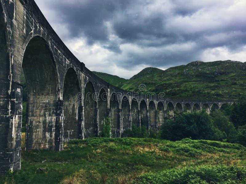 Viaduc de Glenfinnan photo stock