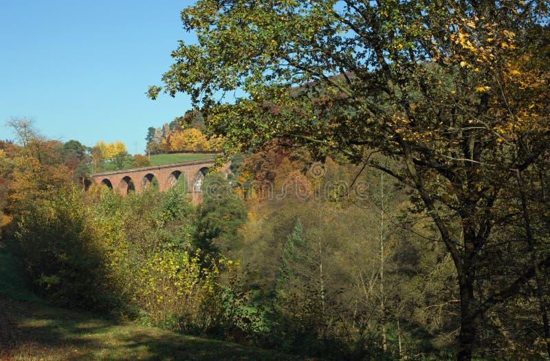Viaduc de Himbaechel photo stock