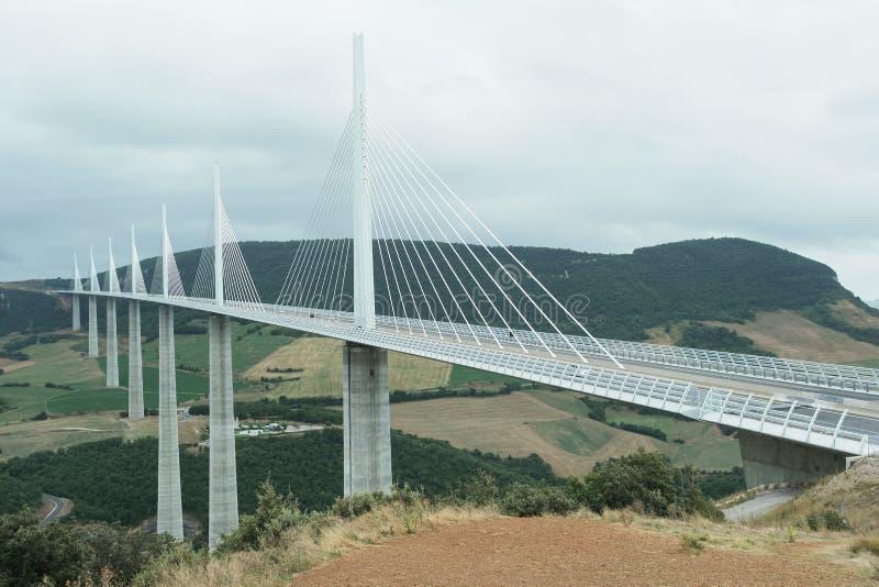 Viaduc de Millau photographie stock libre de droits