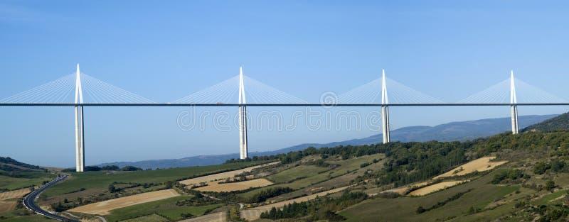 Viaduc de Millau photos stock