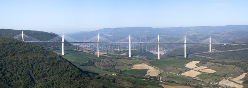 Viaduc de Millau photographie stock