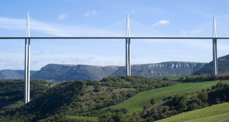 Viaduc de Millau photo libre de droits