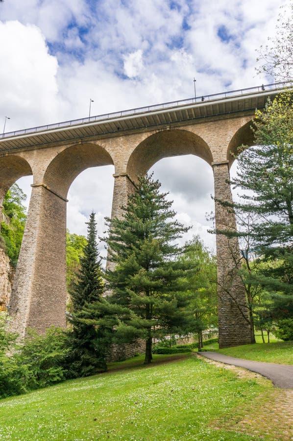 Viaduc, Luxemburgo fotos de archivo libres de regalías