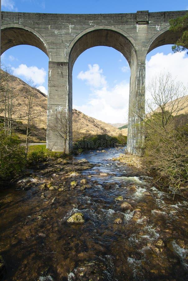 Viaduct de Glenfinnan fotos de stock