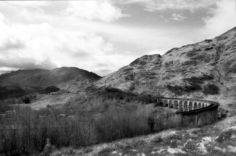 Viaduct de Glenfinnan fotos de stock royalty free