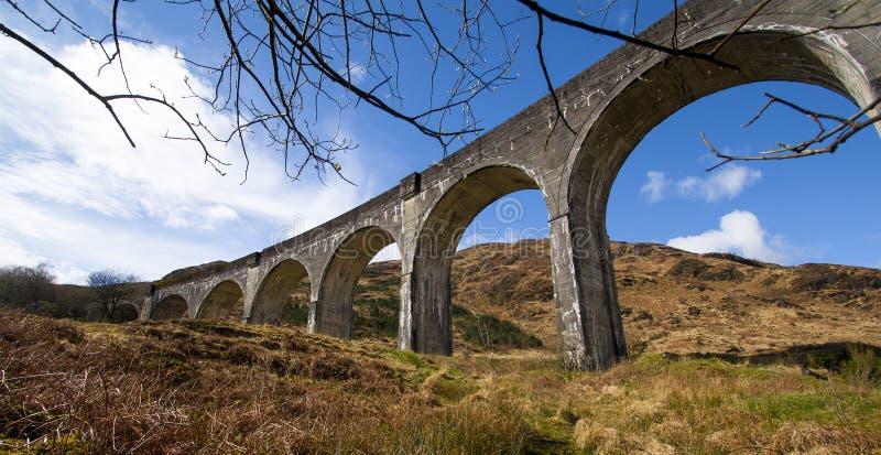 Viaduct de Glenfinnan foto de stock royalty free